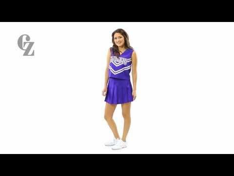 Cheerleader Uniform Top & Skirt | 00410 00409