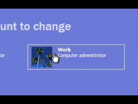 Deleting User Accounts - Windows XP