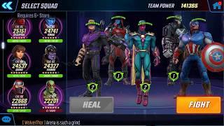 Marvel Strike Force - Dark Dimension TIMED Ultron Node 10