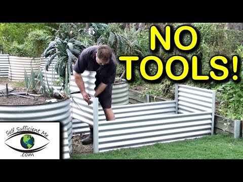 Raised Bed Organic Garden Co Kit Review No TOOLS | Sold at Bunnings