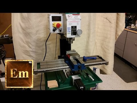 ElementalMaker: G0704 CNC Conversion Part 5: X & Y Axis Ballscrew Install