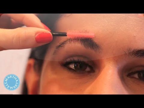 Clean Up Your Eyebrows in 5 Minutes or Less - Beauty in 5 - Martha Stewart