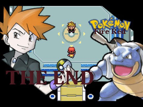 Pokemon Fire Red episode 40 -THE END-  Champion Mike