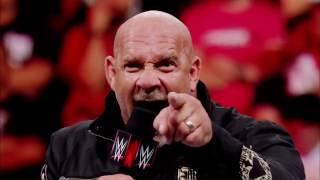 Goldberg vs Brock Lesnar survivor series 2016 promo