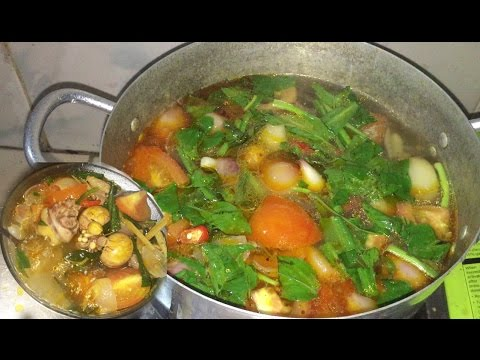 Asian Food, Cambodia Khmer Popular Food, Cambodian Food Home Made, Tong Yam Chicken