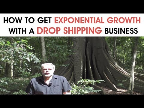 How To Get Exponential Growth With A Drop Shipping Business
