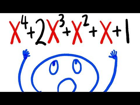 factoring 5-term polynomials