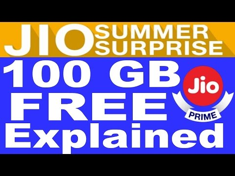 Jio summer surprise offer | Explained | JIO New OFFER 100GB FREE | Full Q&A
