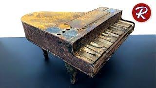 Barn Find Toy Piano Restoration
