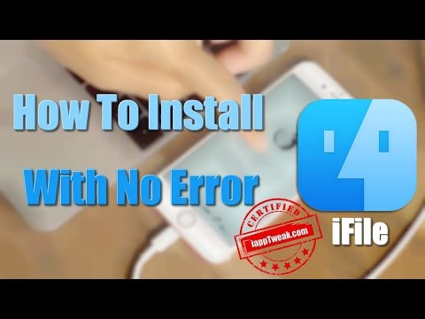 How To install iFile On iOS 9.3.3/9.2/9 With No Error