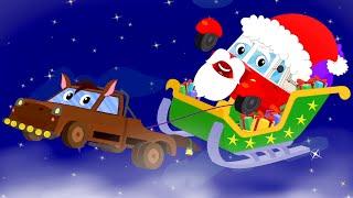 Jingle Bell | Christmas Nursery Rhymes | Christmas Videos for Children | Vehicles Christmas Song