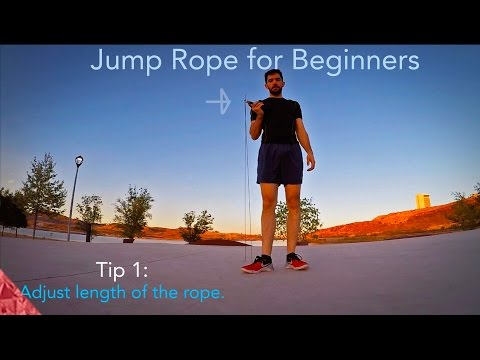 7 tips to build endurance with the jump rope. For Beginners