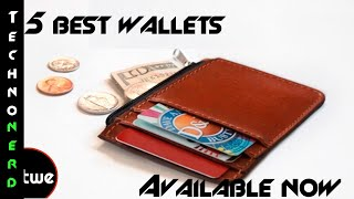 5 Minimalist Wallets That Hold Everything You Need