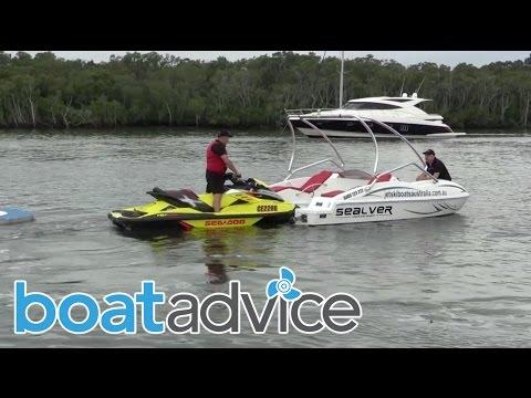 Sealver Jet Ski Boat