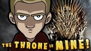 The IRON THRONE is MINE! - Game of Thrones ART in VR! (Mixed Reality)