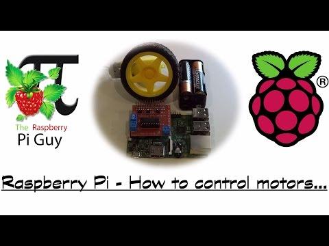 Raspberry Pi - How to control motors...