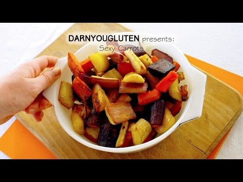 Glazed Roasted Carrots and Parsnips | Gluten Free