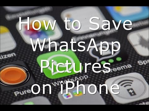 How to Save WhatsApp Pictures on iPhone and iPad