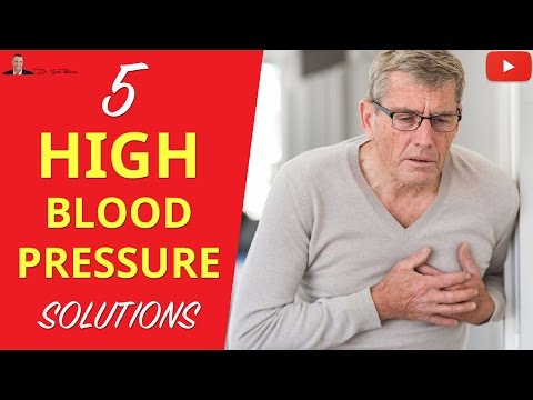 ►5 High Blood Pressure Solutions - Clinically Proven!
