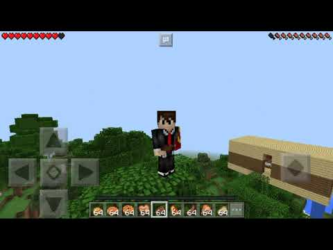 How to eat food in Minecraft Pocket Edition !!!  (+Bonus) Eating problems solved.