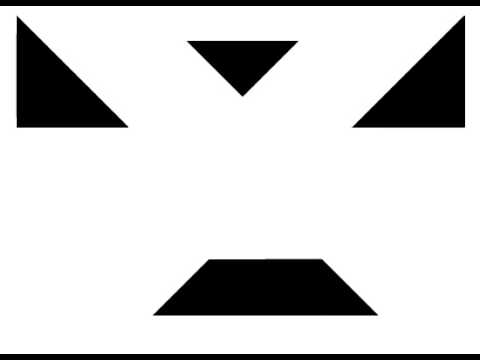 Tangrams  How to Make a Square
