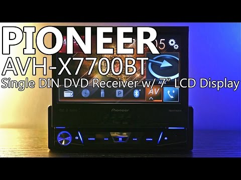Pioneer AVH-X7700BT 7