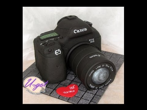 how to make a camera cake
