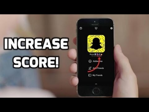 **STILL WORKS** How to Increase Snapchat Score Fast!