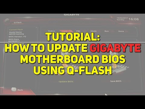 Update your Gigabyte AB350-Gaming BIOS using Q-Flash