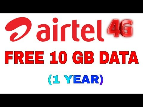 Airtel Trick to Get10 GB Free 3G 4G Data || Hindi || AiRTEL Free 10GB Data