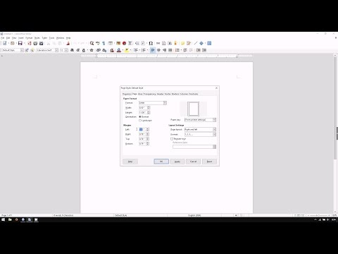 LibreOffice Writer: How to Adjust Page Margins