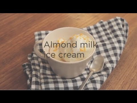 Thermomix Almond milk ice cream   Entertaining with Dani Valent