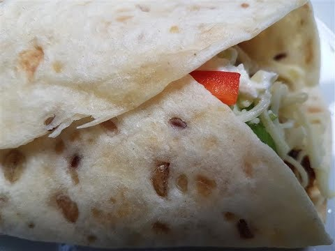 Mexican Chicken Fajitas Tortilla Wrap Recipe
