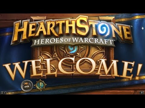 Welcome to Hearthstone | Beta Key Giveaway
