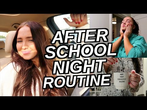 After School Routine! Productive and Relaxing | Kenzie Elizabeth