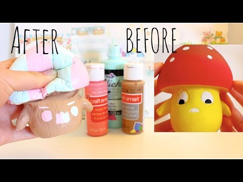 3 Colors of Paint Squishy Challenge!!!