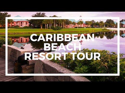DISNEY'S CARIBBEAN BEACH RESORT TOUR