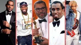 Rappers React To Jordan Peele Winning Oscar For Get Out At Oscars 2018 (50 Cent Diddy LeBron James)