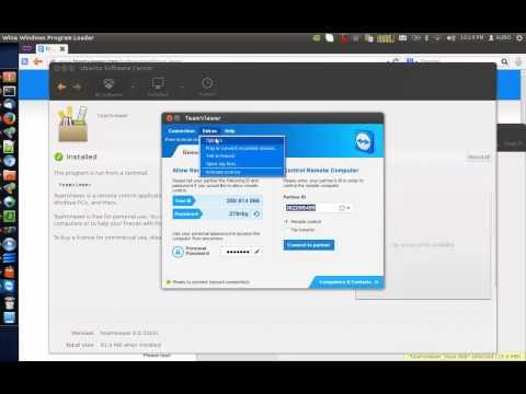 Setup Teamviewer Unattended with Auto-Startup on Ubuntu