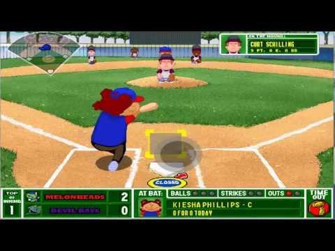 Backyard Baseball 2001 - Single Play Shenanigans