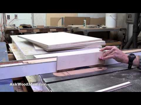 How To Make Plywood Boxes • 10 of 64 • Woodworking project for kitchen cabinets, desks, etc...