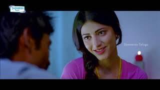 First Night | Shruti Haasan and Dhanush First Night | 3 Telugu Movie Scenes | Sivakarthikeyan