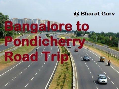 Road Trip - Bangalore to  Pondicherry | Adventours Trip | Bharat Garv |
