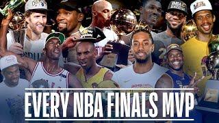 Every NBA Finals MVP in League History | Michael Jordan, Kawhi Leonard, LeBron James and More!