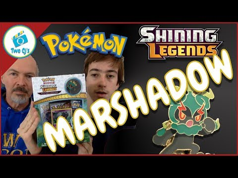 Pokemon Marshadow Surprise Attack Pin Collection Set Opening