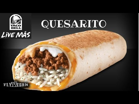 Taco Bell Quesarito Recipe  #Veganized
