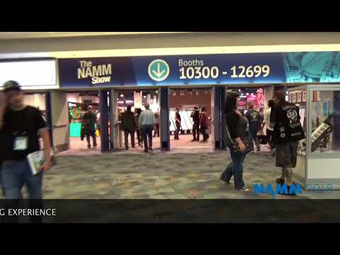 MAKING MUSIC MAG/NAMM2018  1 HOUR WALK IN 5 MINUTES EXPERIENCE