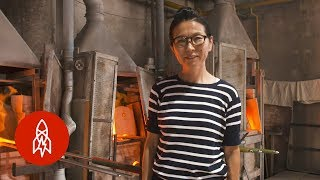 How Light and Water Inspires This Japanese Glass Artist