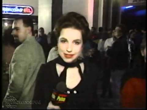 MTN - Star Trek: Voyager series premiere at IMAX (1995)