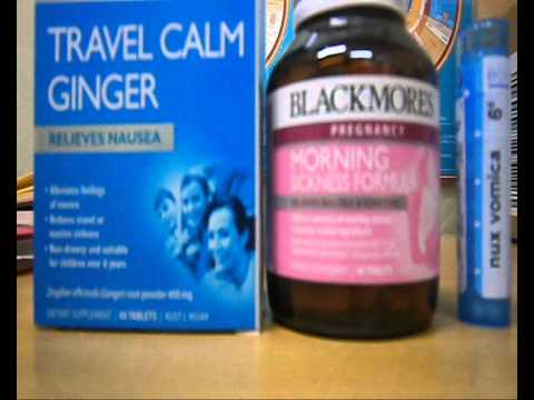 Some Natural Treatments For Morning Sickness